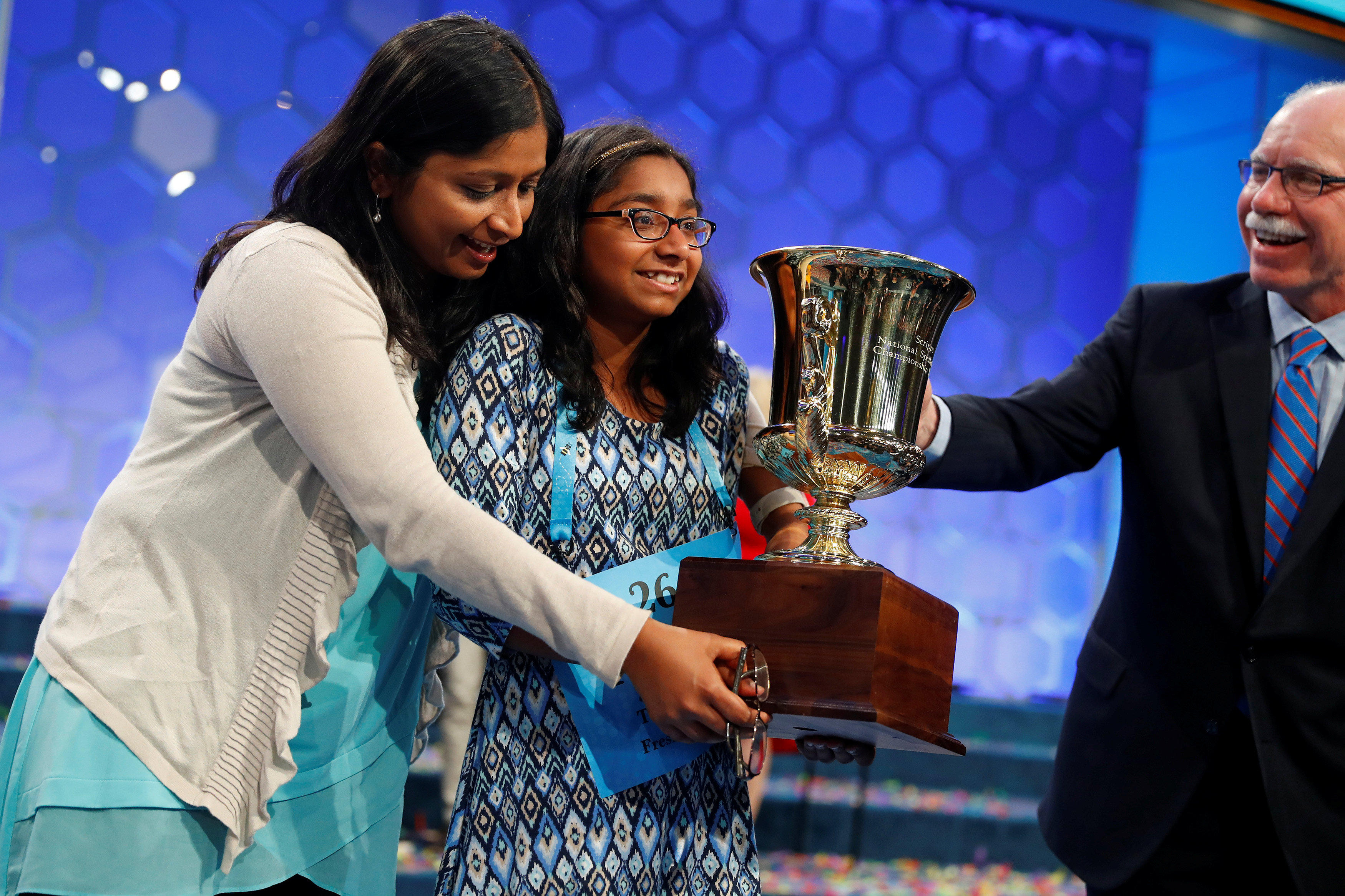 Ananya Vinay, 12, wins Scripps National Spelling Bee ...