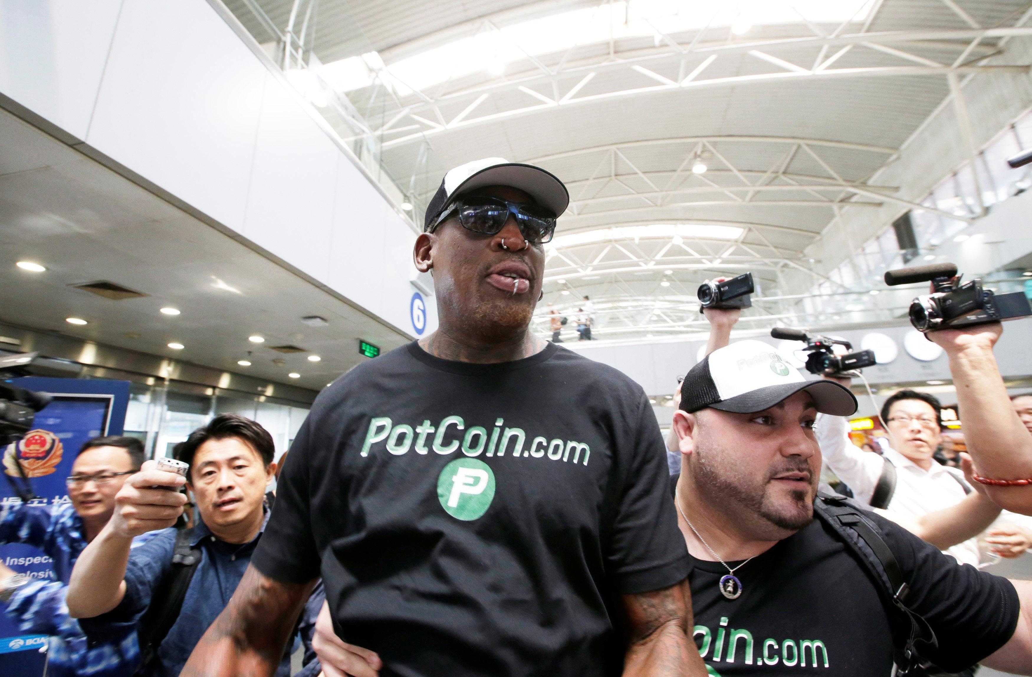 5275a485e7 ocregister.com Dennis Rodman heading to North Korea again