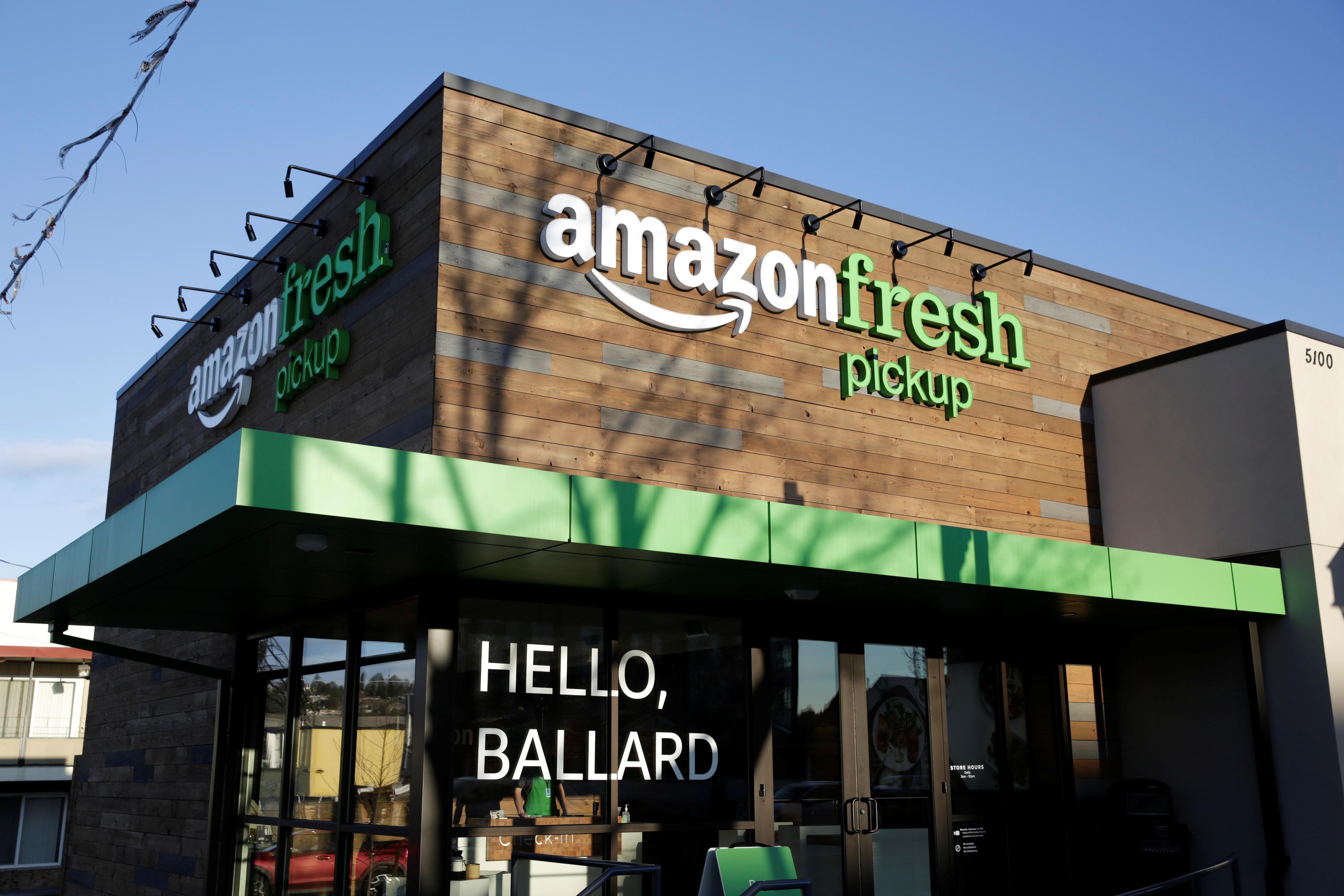 Amazon's Fresh Food Hurdle: Getting People to Buy Online