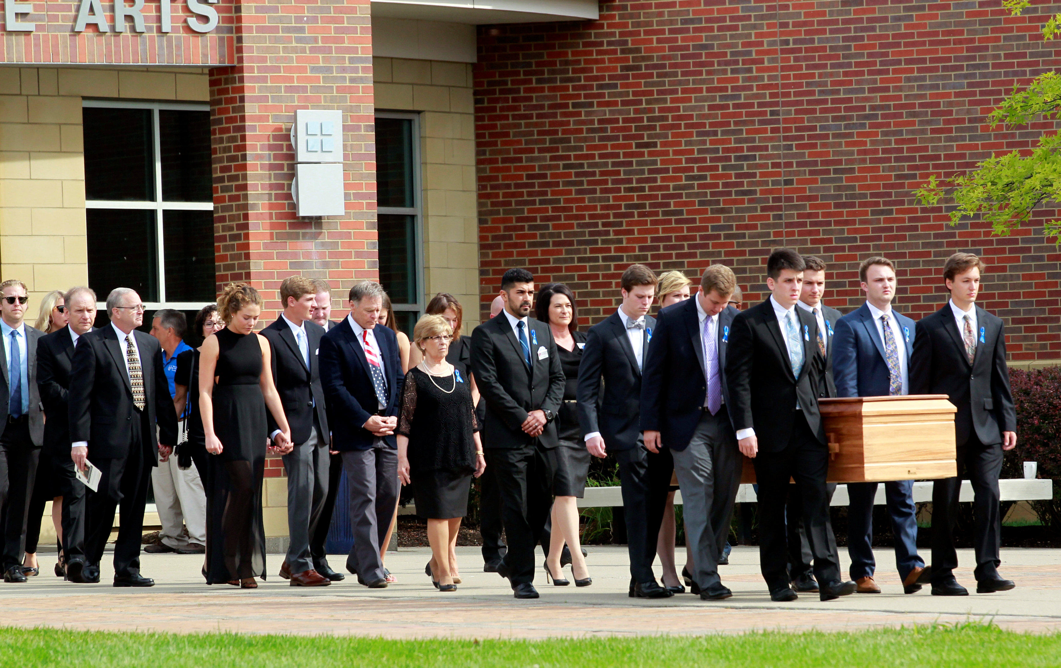 Mourners gather for Otto Warmbier's funeral