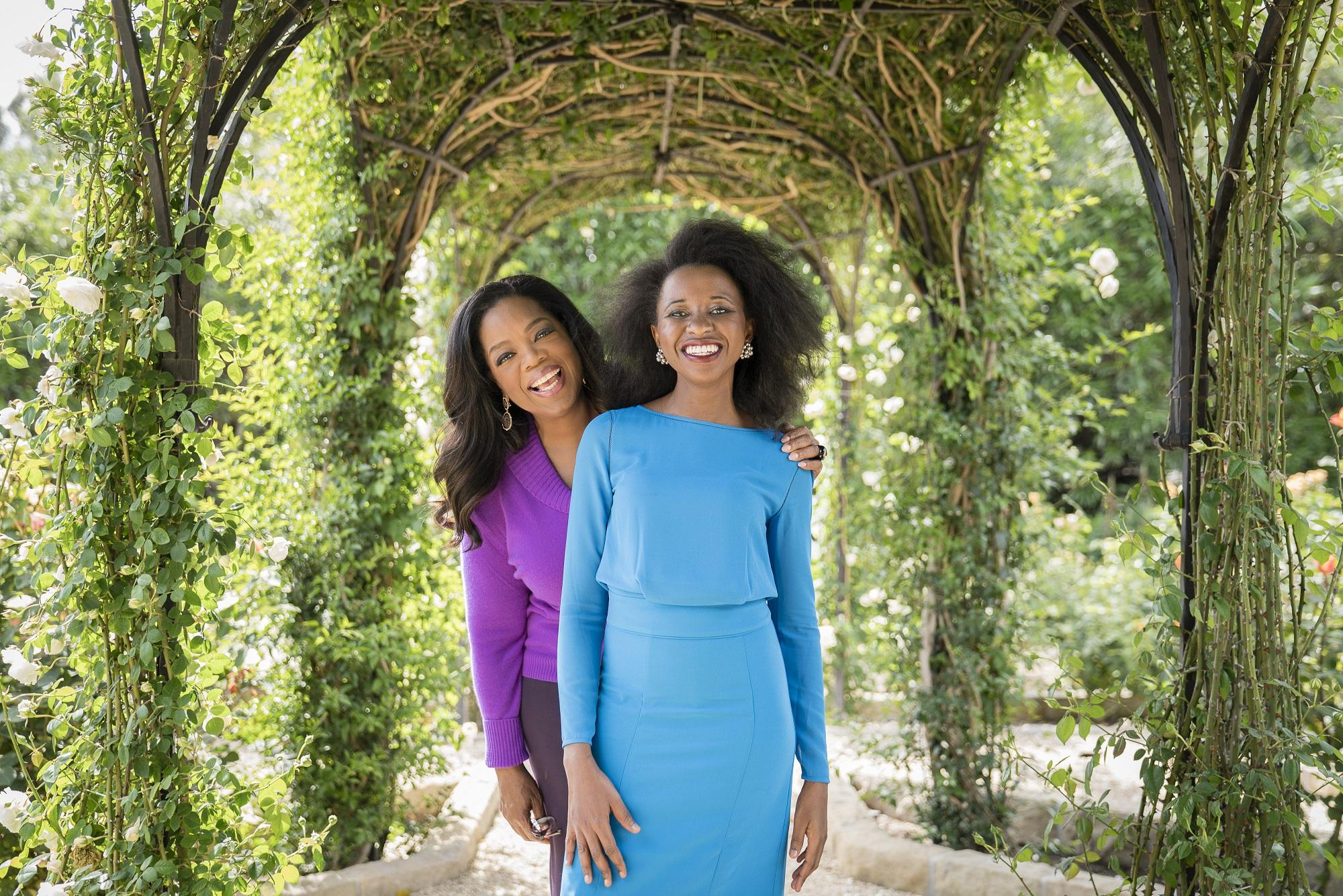 Image result for images of oprah winfrey and Imbolo Mbue