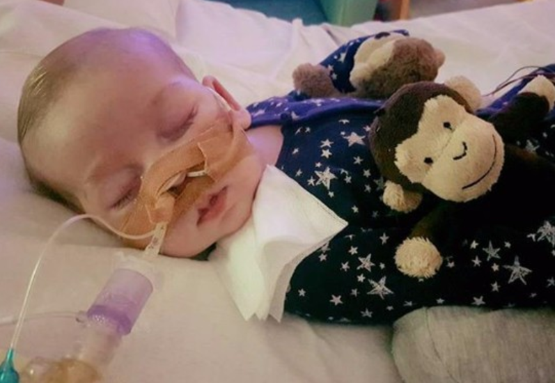 """Sad reading"" for Charlie Gard's latest test results, hospital says"