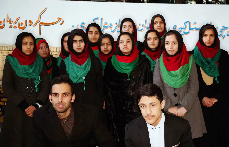 Created At 2017 07 13 1211 Lgs Slim Fit Youth Boy Big Dreams Abu Xl Abcnewsgocom Ivanka Trump Says She Looks Forward To Welcoming Afghan Girls Robotics Team