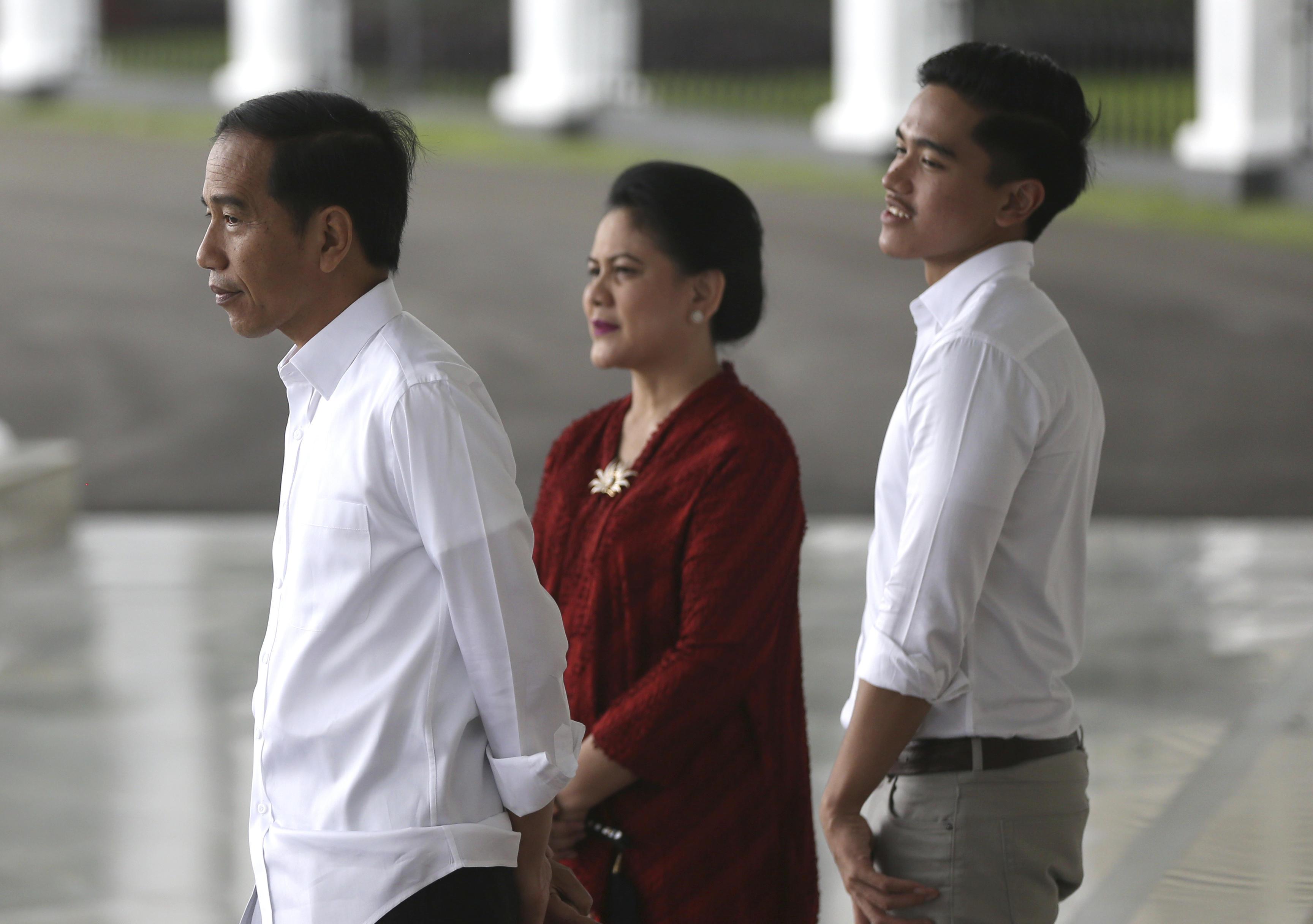 Indonesia President Joko Widodo son Kaesang Pangarep