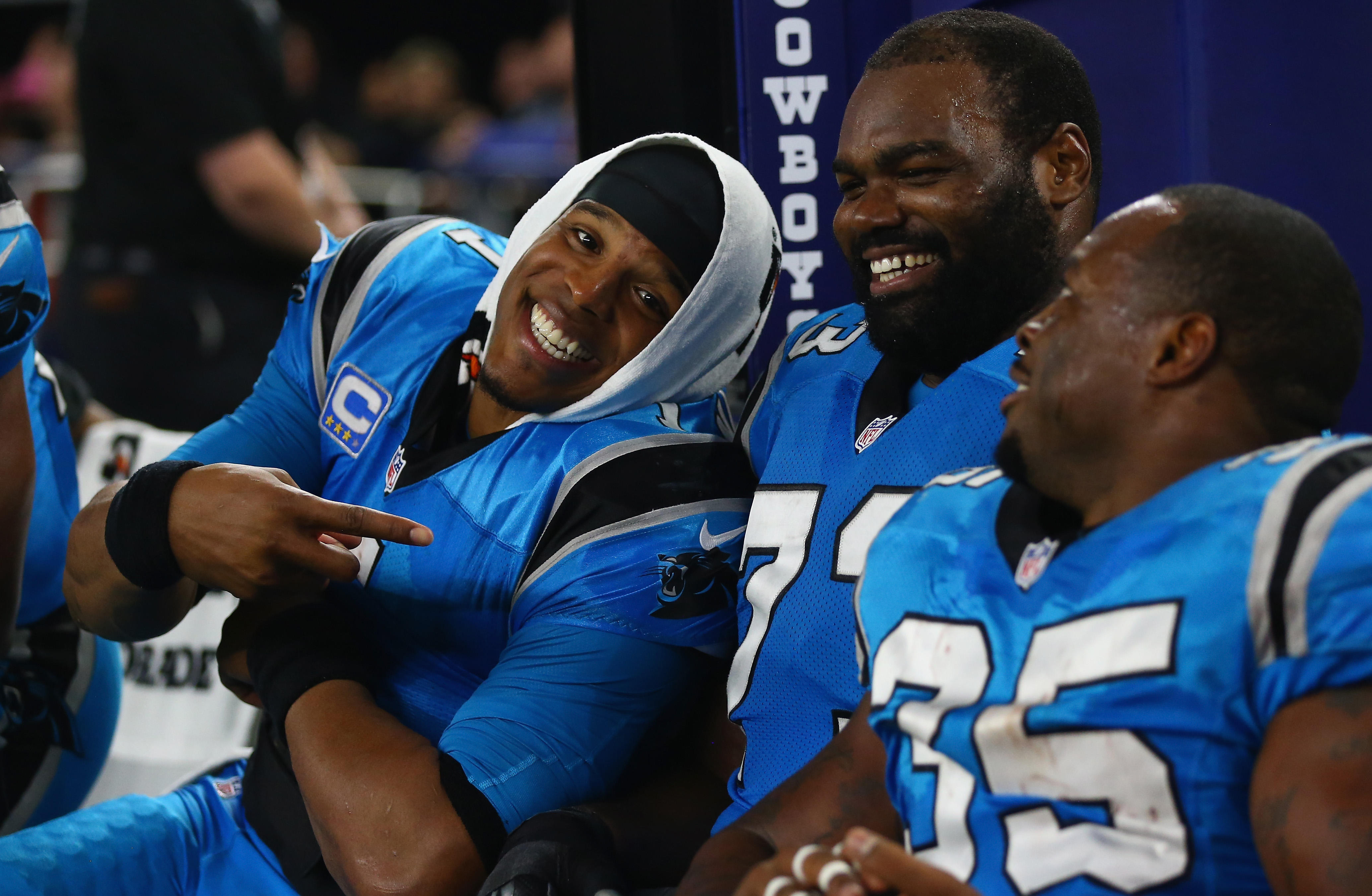 The Carolina Panthers paid homage to the