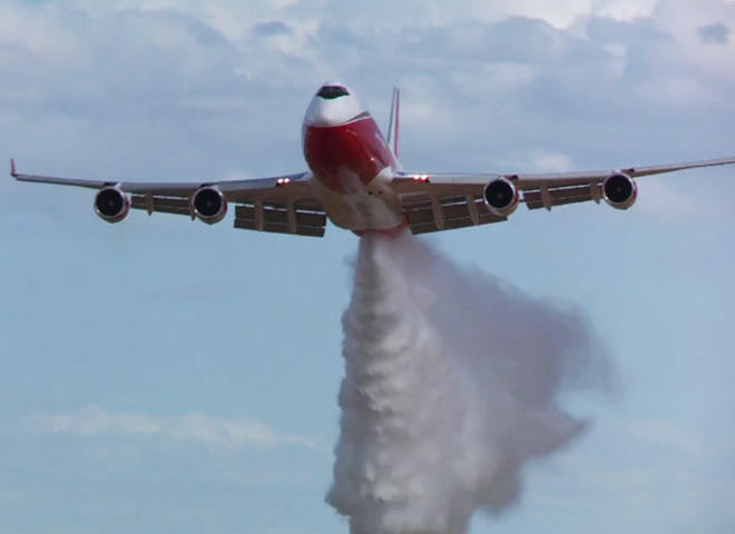 World's largest firefighting aircraft grounded by US gov't