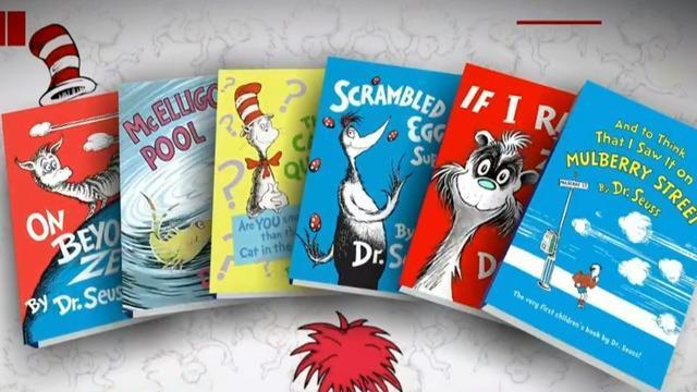 Dr. Seuss books top Amazon bestseller list