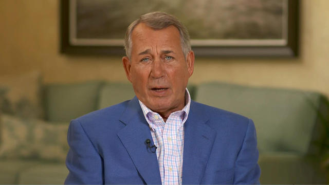 Boehner says U.S. voters are to blame for modern-day GOP