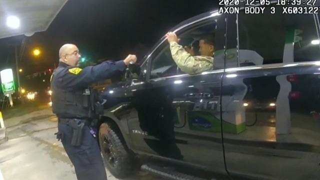 Virginia cop who pepper-sprayed Black Army lieutenant is fired