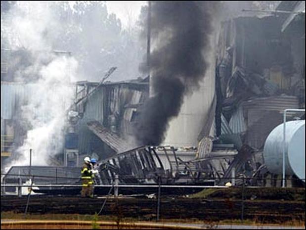 Kinston Factory Explosion