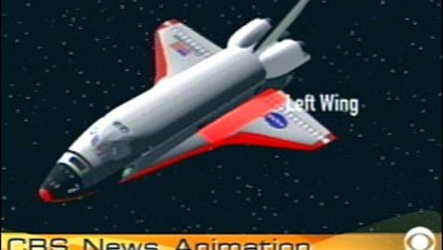 space shuttle top wing - photo #25