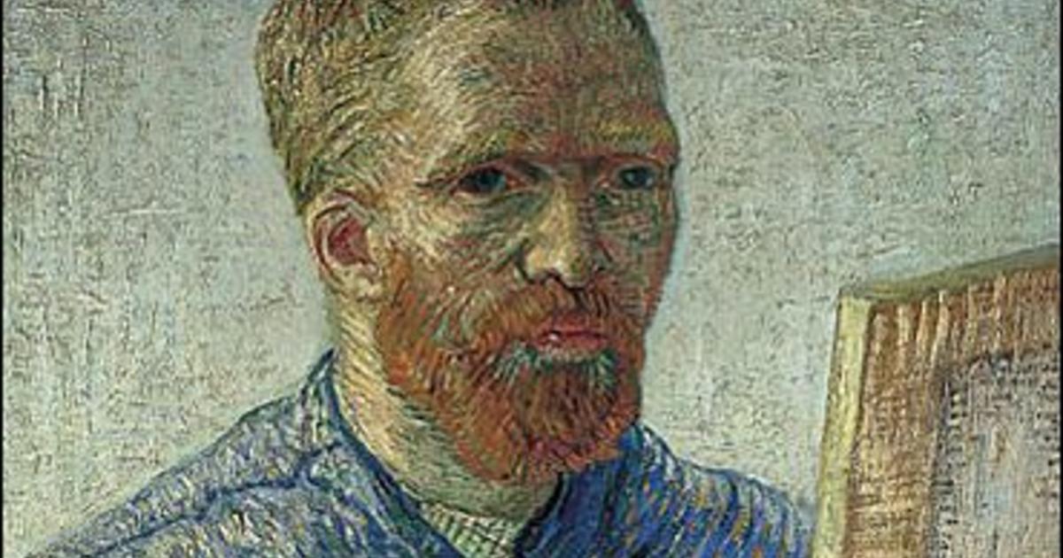 Book Friend Chopped Off Van Gogh 39 S Ear Cbs News