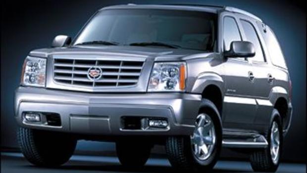 Latest Cadillac Escalade >> Cadillac Escalade Thefts Escalate - CBS News