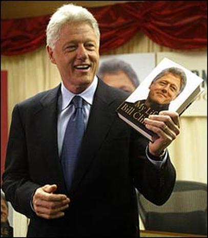 Clinton's Book Blitz