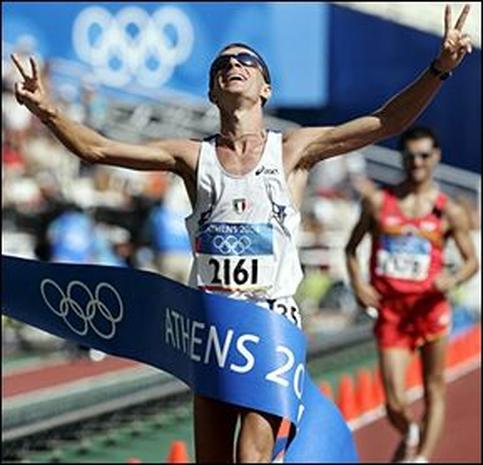 Track and field logo olympics