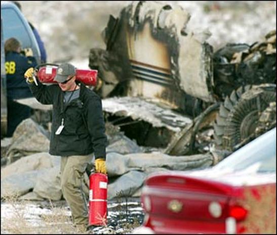 Ebersol Plane Crash