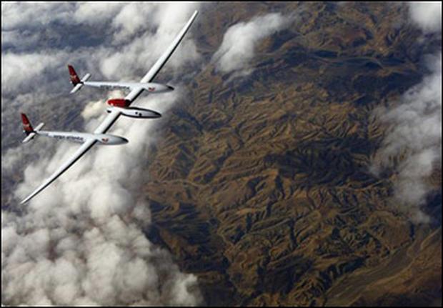 GlobalFlyer Flight