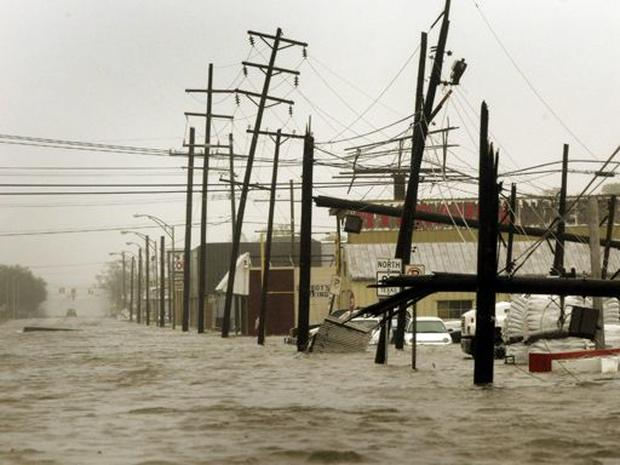 Hurricane rita texas photo 19 pictures cbs news for Port a texas