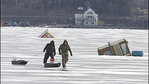 Hingis wins pan pacific cbs news for Ice fishing ny