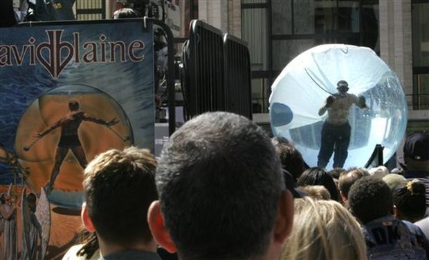David Blaine's Breathtaking Stunt