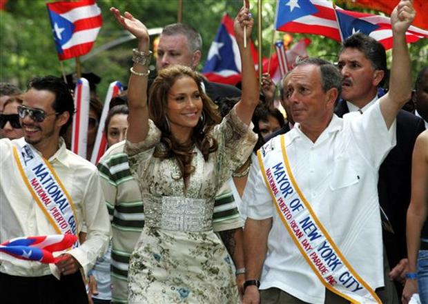 Marc And JLo Have A Parade