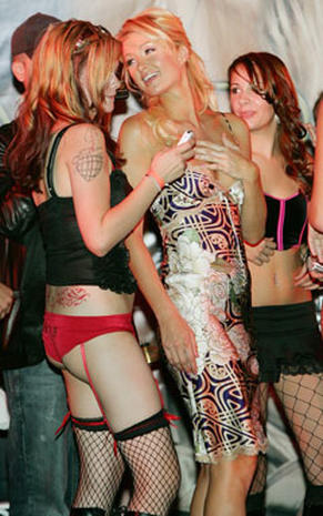 Paris Hilton Day In Vegas