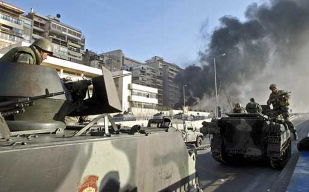 Beirut Clashes Turn Violent