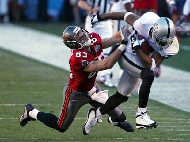 Super Bowl MVP - Super Bowl XXXVII - Pictures - CBS News | 620 x 465 jpeg 54kB