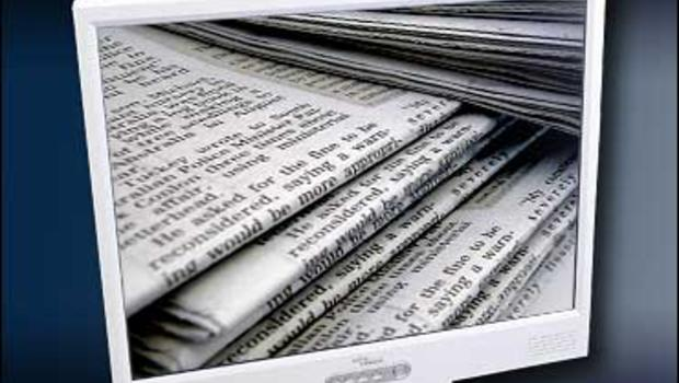 circulation down sharply again at newspapers cbs news. Black Bedroom Furniture Sets. Home Design Ideas