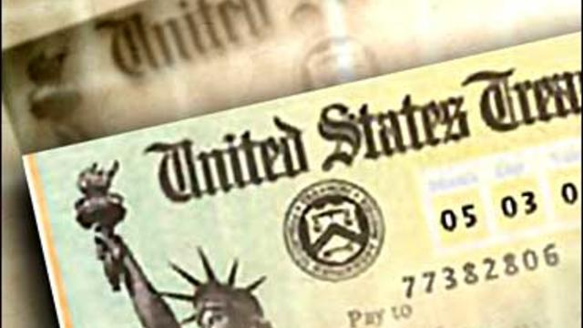 tax refund check, US treasury