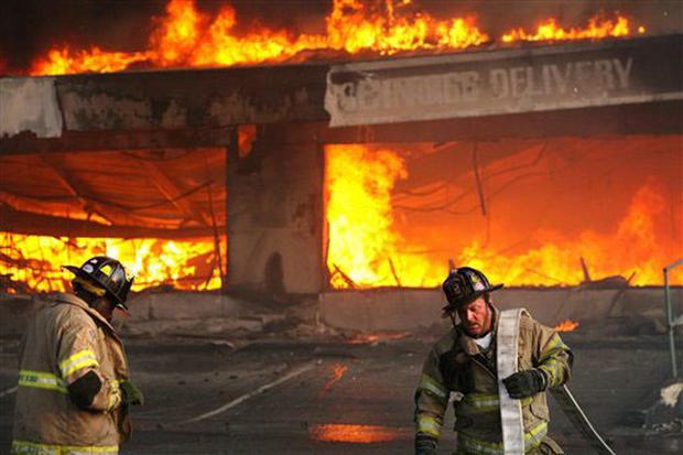 Tragic Charleston Blaze