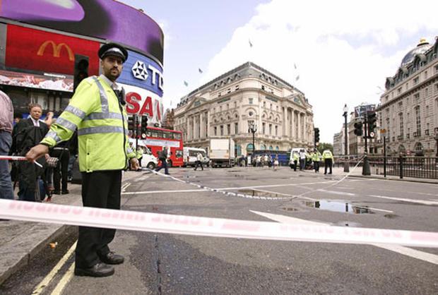 London Bomb Scare