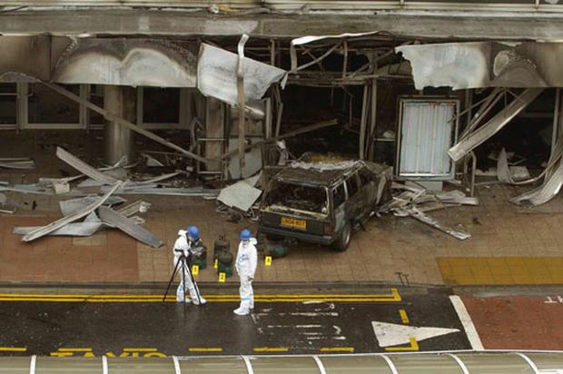 Scotland Airport Attack
