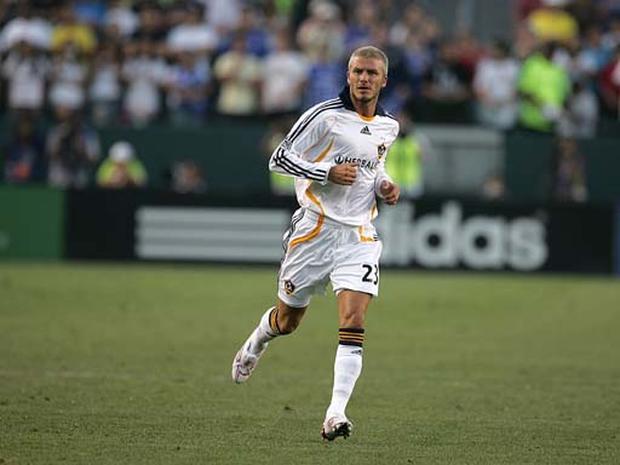 Beckham's Debut