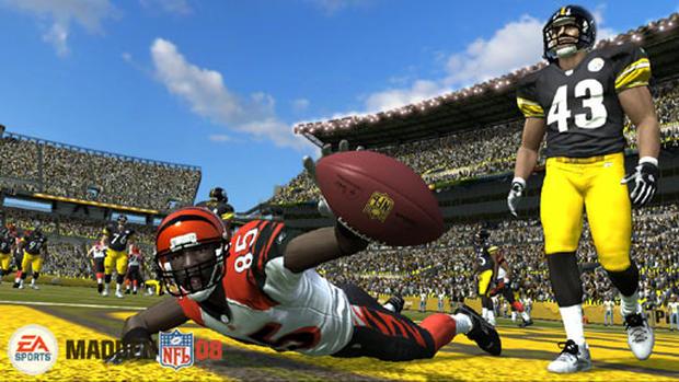 EA Presents Madden NFL 08