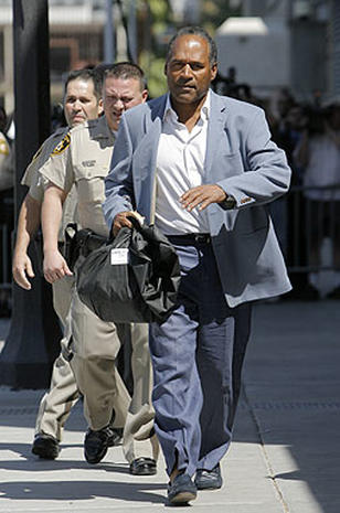 O.J. Busted In Vegas