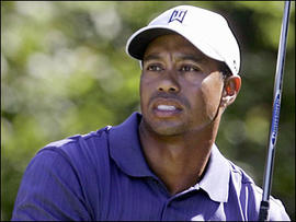Tiger Woods headshot