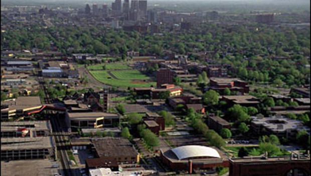 University of Louisville campus