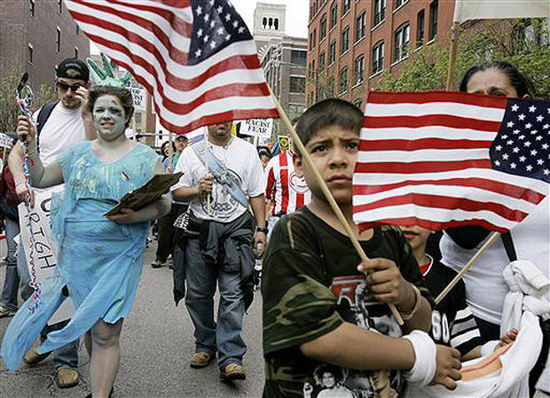 Immigration rallies