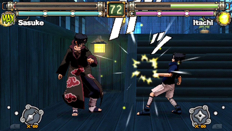 Naruto: ultimate ninja heroes 2 - the phantom fortress (2008) pal custom