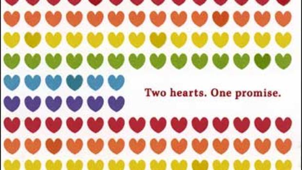hallmark introduces gay marriage cards  cbs news, Greeting card