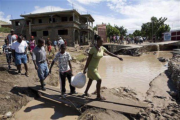 Hanna Hits Haiti
