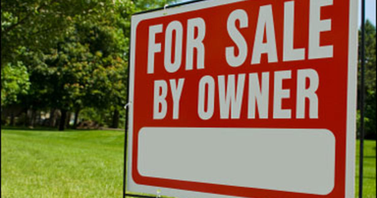 Selling Your Home On Your Own Cbs News