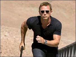 "Daniel Craig stars as James Bond in ""Quantum of Solace."""
