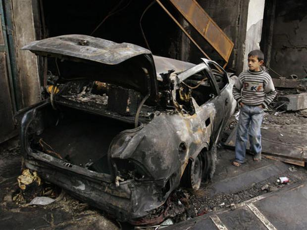 Gaza Air Assault
