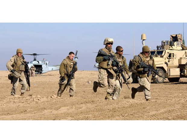 Tug-Of-War For Marines