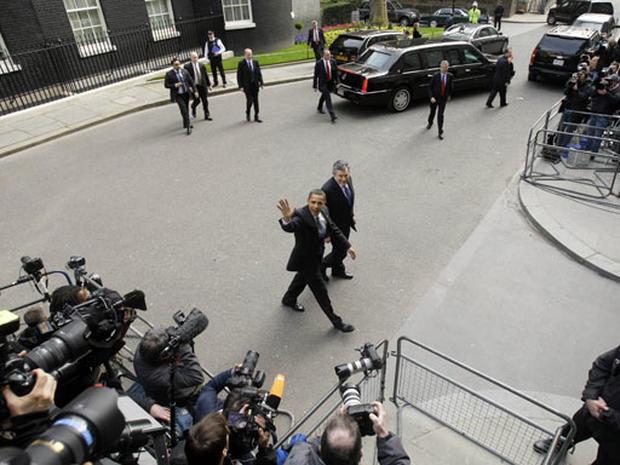 Barack Obama In London