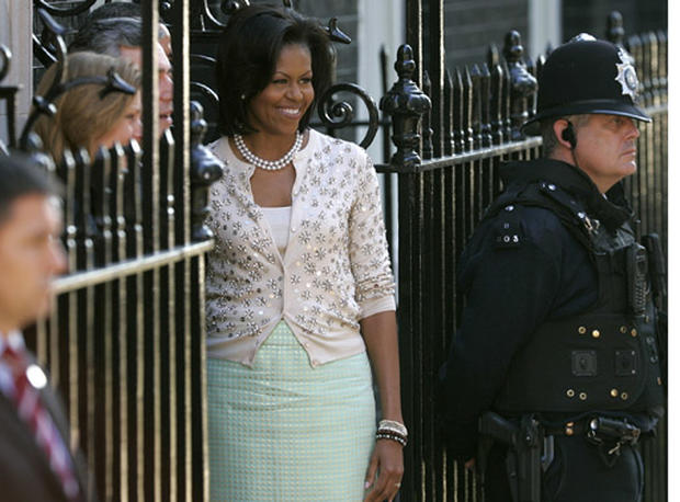 Michelle Obama's European Style
