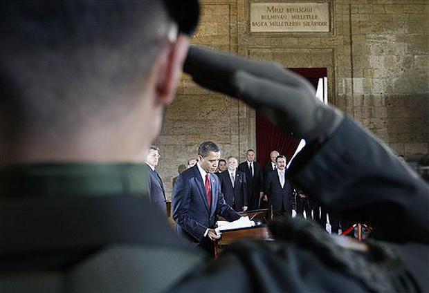 Obama Travels To Turkey