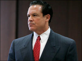 May 8, 2009 file photo of attorney Paul Bergrin in Superior Court in Newark, NJ